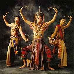 7a14aaaeb Nohra: Costumed Nohra dancers from southern Thailand display the typical  dance movements. The main dancer wore a head dress called the Terd from  which two ...